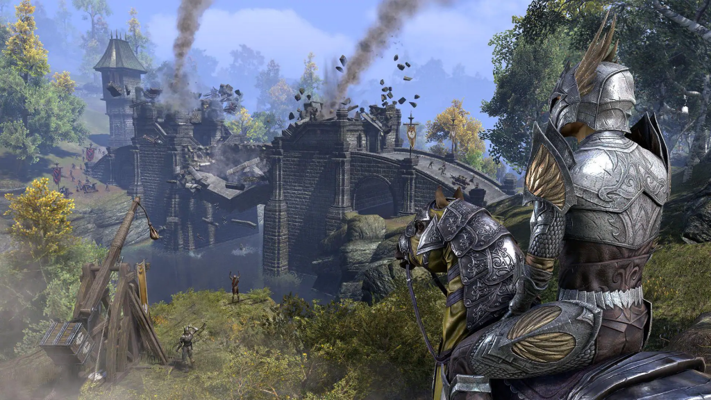 Joining the fight in the elder scrolls online